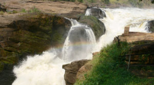 Amazing Murchison Falls in Murchison Falls National Park.